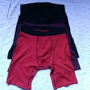 (3) TOMMY JOHN Cotton Basics Boxer Briefs